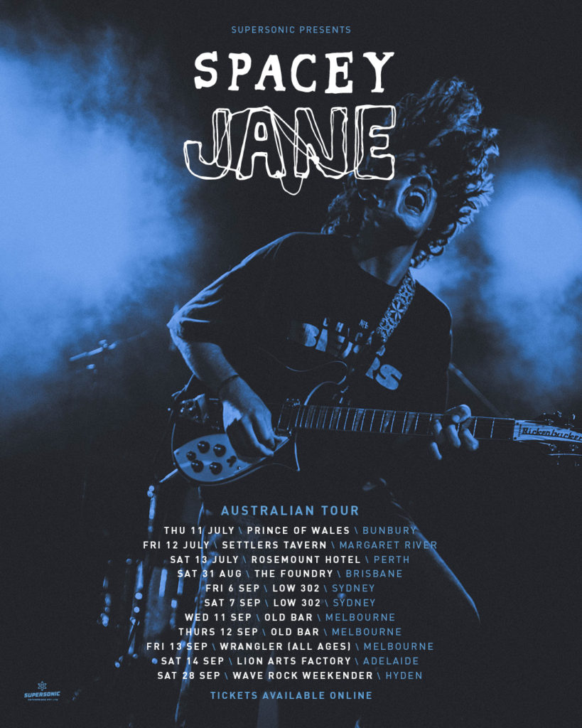 Spacey Jane join Charly Bliss (USA) on tour and added to